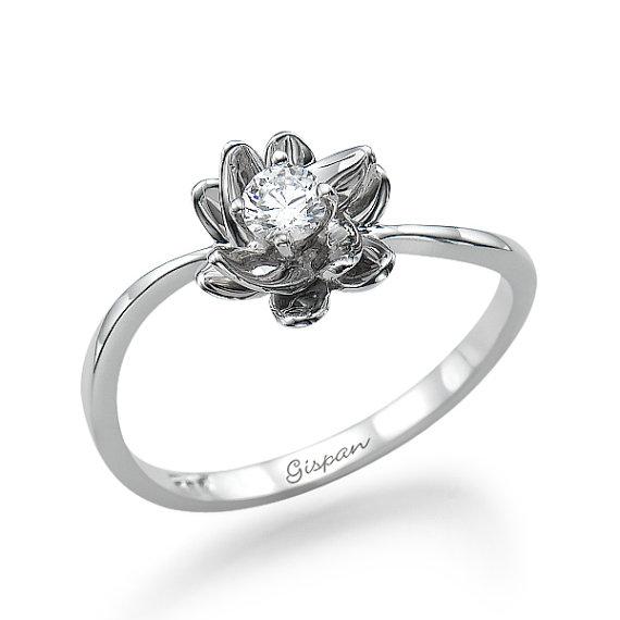 Connu bague-de-fiancailles-diamant-fleur | Appelez moi Célestine TD37