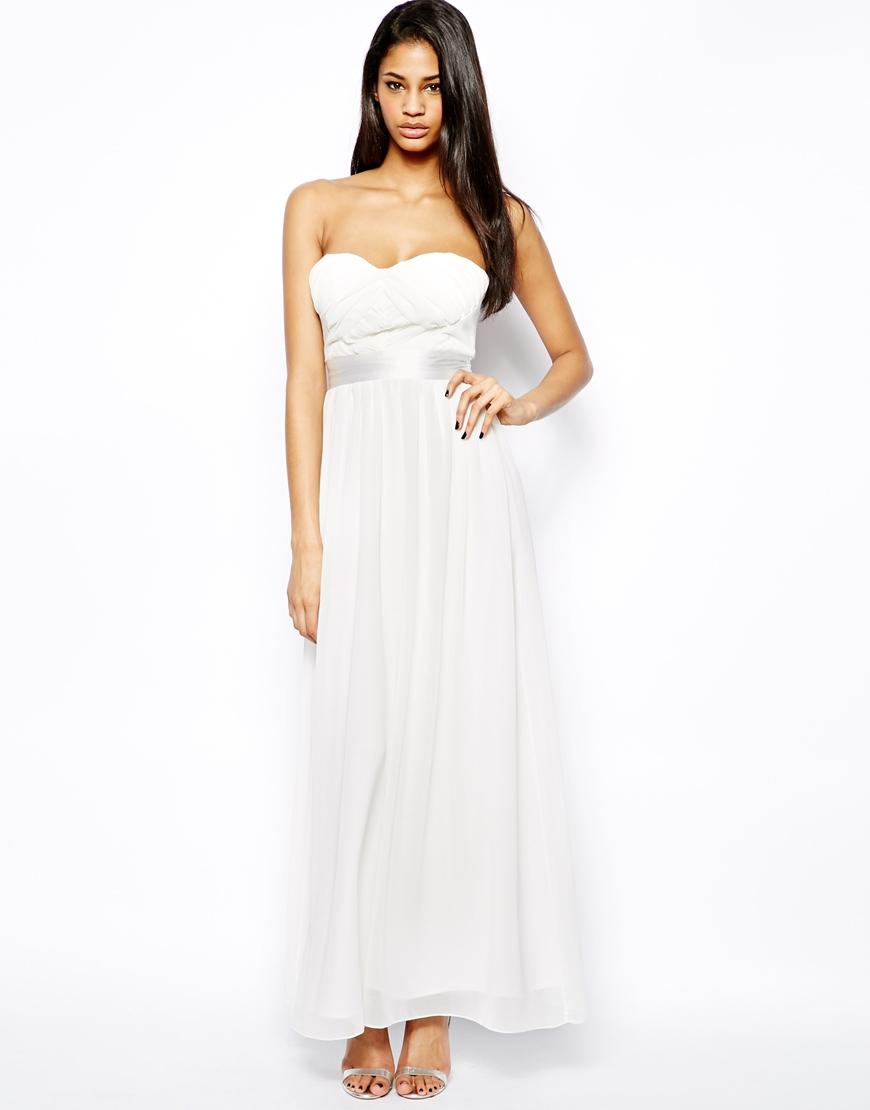 robe longue blanche pour mariage appelez moi c lestine. Black Bedroom Furniture Sets. Home Design Ideas