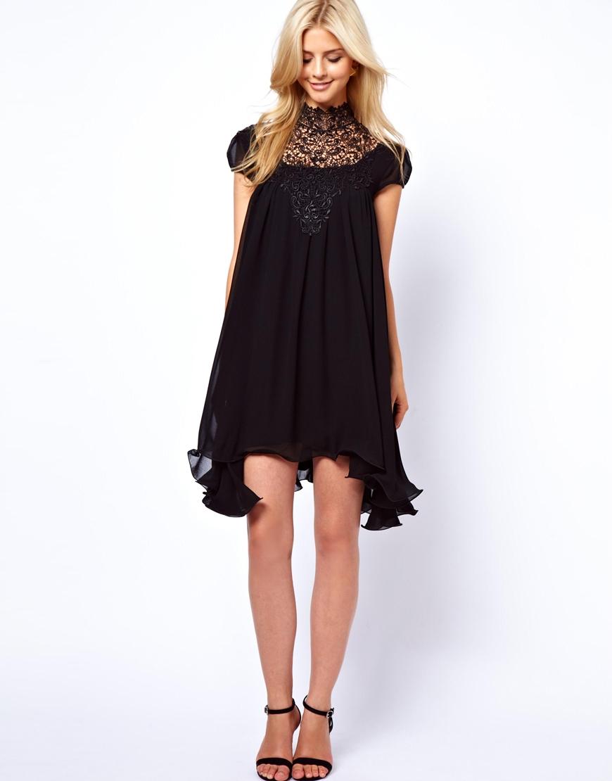 robes l gantes france une robe noire a un mariage. Black Bedroom Furniture Sets. Home Design Ideas