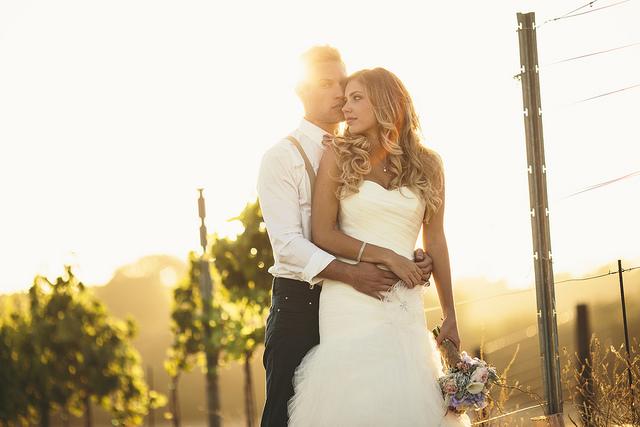 Photo de couple mariage vignes appelez moi c lestine - Photo de mariage couple ...